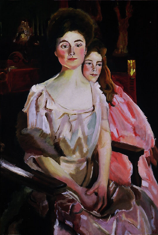 """Copy of John Singer Sargent painting"", Oil, 24″x36″, Private Collection"