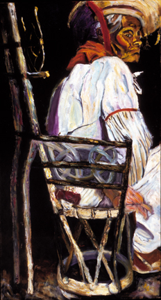 """Old Man"", Oil, 26″x48″ SOLD"