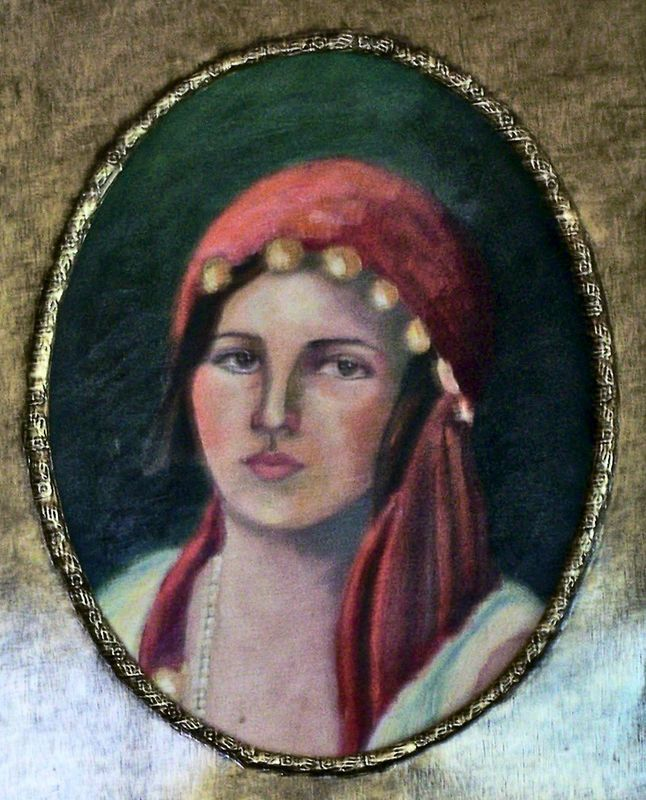 Gypsy Girl, Private Collection
