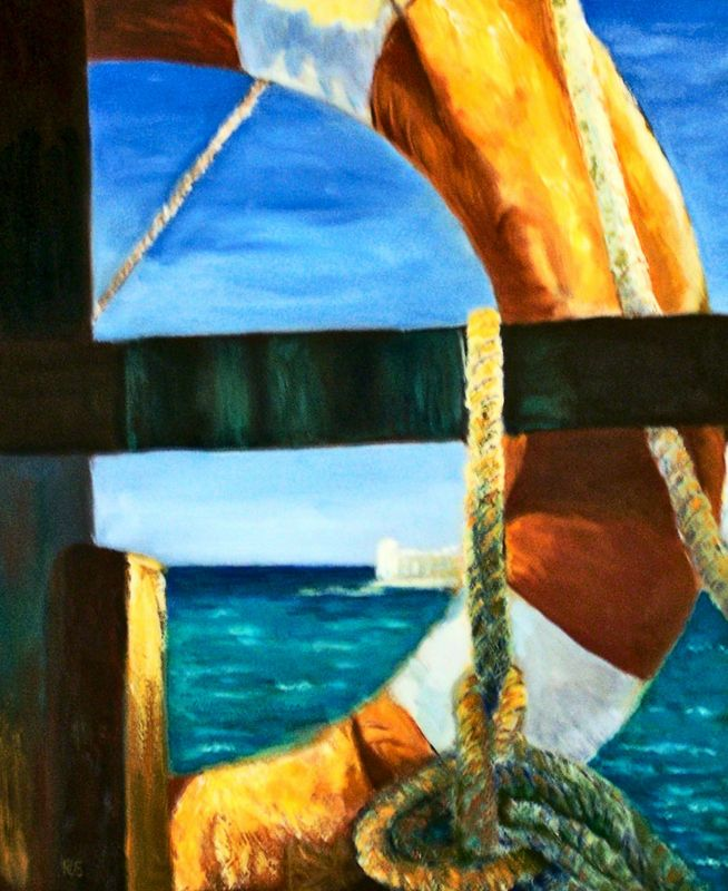"CANCUN....OIL 24"" X 30""......$950.00"