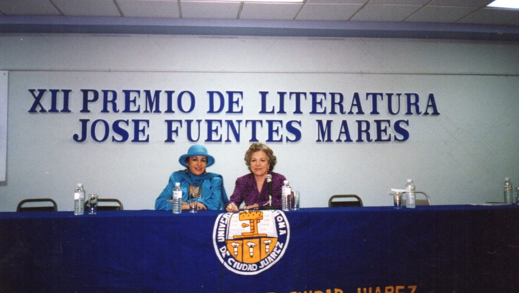 XII Winner Of The Premio De Literatura Jose Fuentes Mares